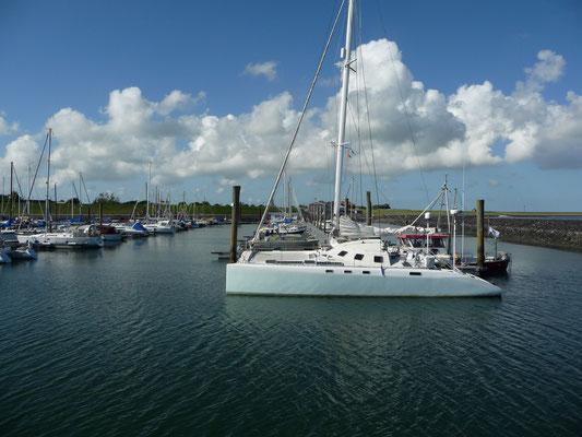 Im Yachthafen Wyk auf Föhr