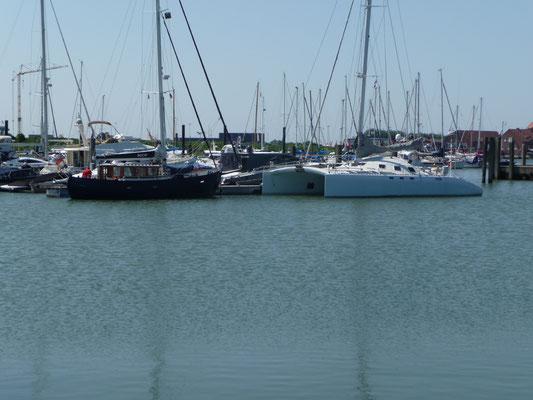 Im Yachthafen von Norderney