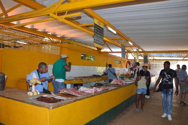 Ein Markthalle