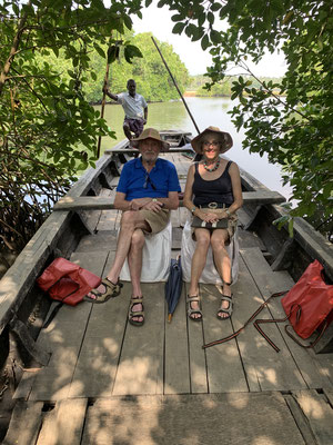 Fahrt durch die Backwaters