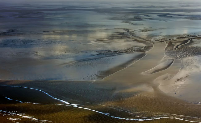 Sandbanks - Auf einem Flug nach Helgoland