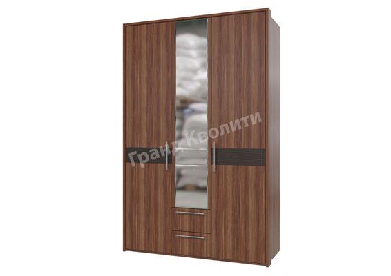Шкаф распашной 3-дверный с ящиками 4-4803 Размер: 1380*575*2240Н