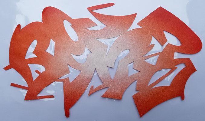 PAT23 - Schablonen Graffiti Style
