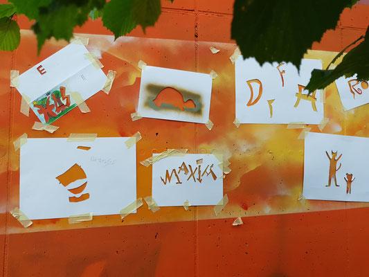 PAT23 2021 - Graffiti Workshop Leipzig - DPFA Regenbogen-Grundschule