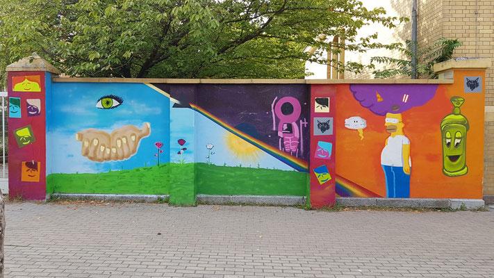 Graffiti Workshop Leipzig Schule