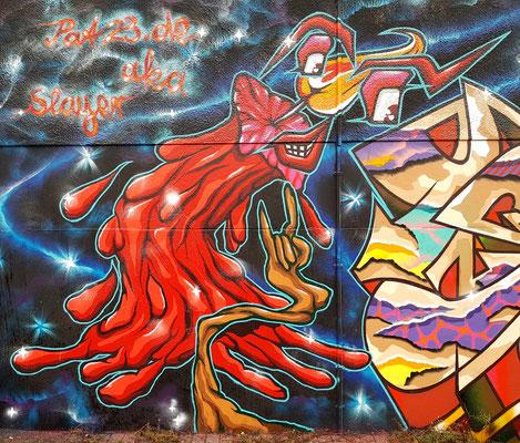 PAT23 - Graffiti Character Kerze - Leipzig 2020