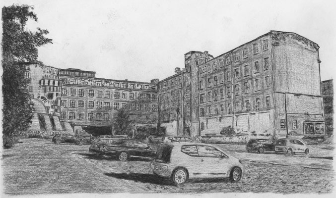 Lost Place Zeichnung - Lpz Kommissions & Großbuchhandel