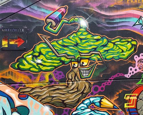 PAT23 - Graffiti Character Malerrollenpilz - Leipzig 2020