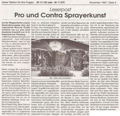 Stadtteilblatt - 1997