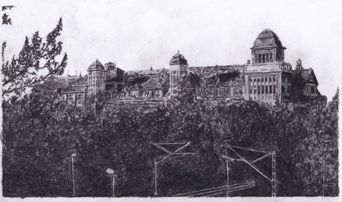 Lost Place Zeichnung - Karl Krause Werke