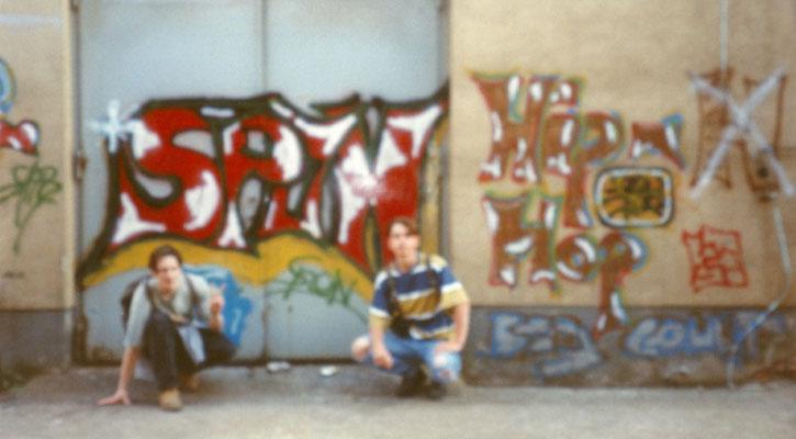 Spon - Mein 1. Graffiti Pt.2 - 1994