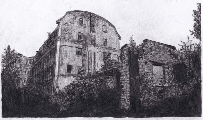 Lost Place Zeichnung - Dietzold Werke