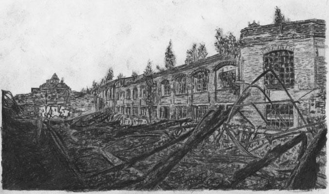 Lost Place Zeichnung - Bleichert Werke