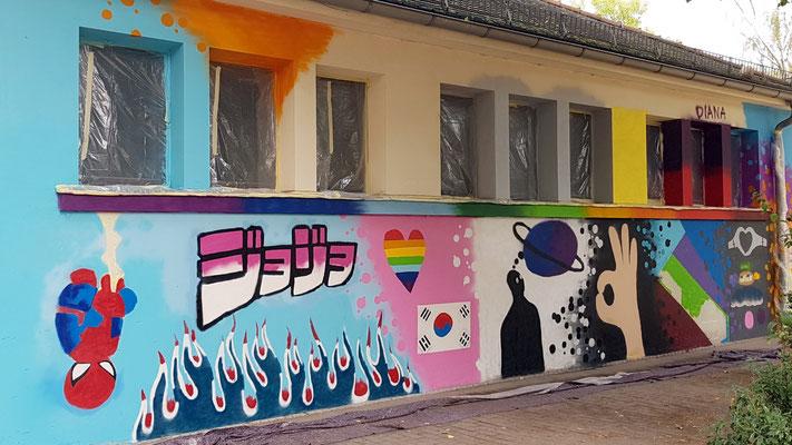 PAT23 2019 - Graffiti Workshop Leipzig - 125. Schule