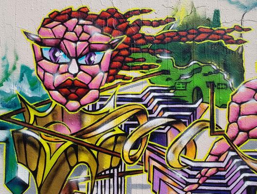 PAT23 - Freestyle Graffiti Character - Leipzig 2021