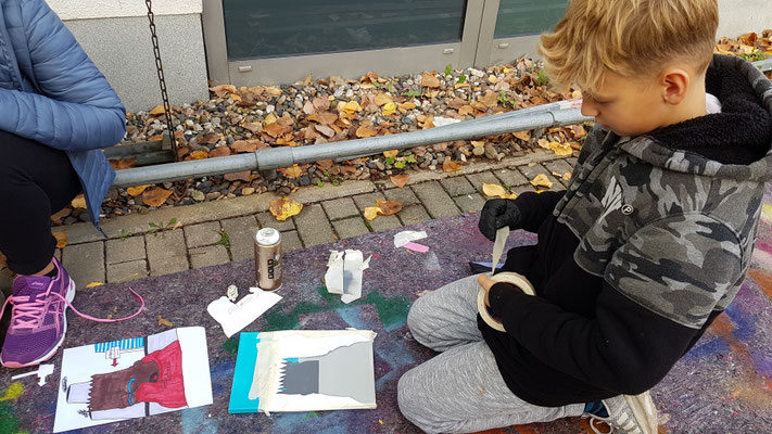 PAT23 2019 - Graffiti Workshop Dresden - Volkshochschule