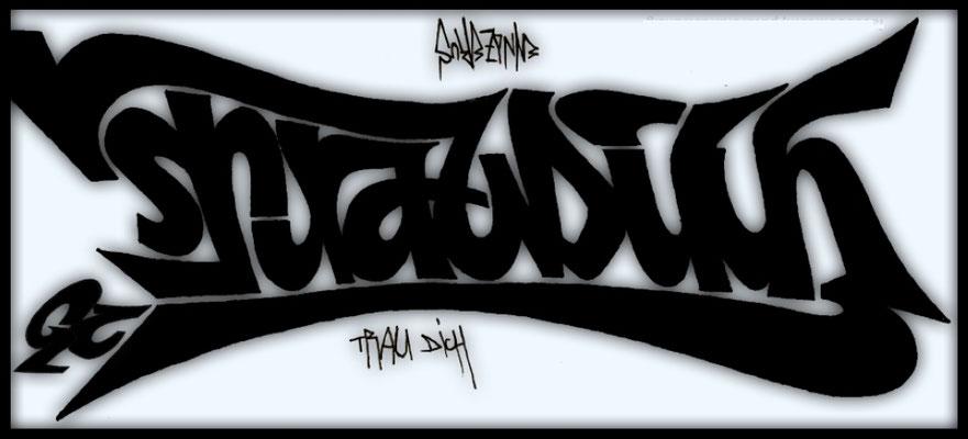 GC TrauDich - 180°Rotation (Ambigramm)