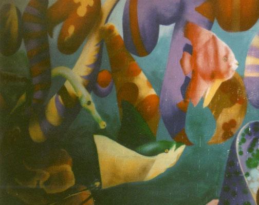PAT23 - Graffiti Character Unterwasser - Leipzig 1999