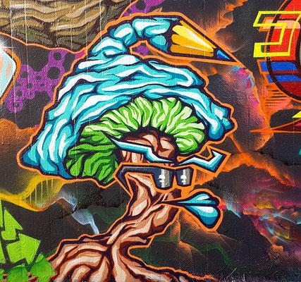 PAT23 - Graffiti Character Stiftpilz - Leipzig 2020