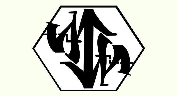 AGA (AmbiGraffArt) - 180°Rotation (Ambigramm)