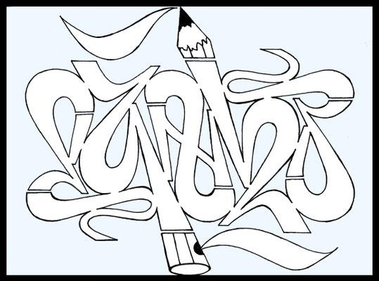 PAT23 - 180°Rotation (Ambigramm)
