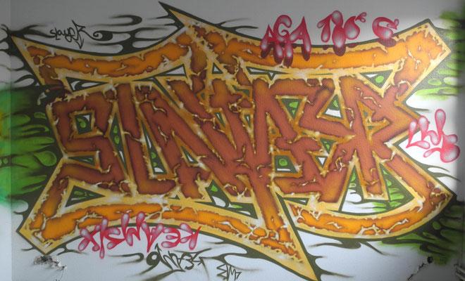 Slayer - 180°Rotation (Ambigramm)