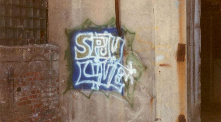 Spon - Mein 1. Graffiti Pt.1 - 1994