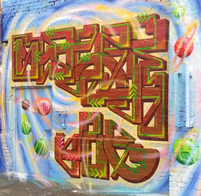 Slayer Lwb - Graffiti Oneliner Piece