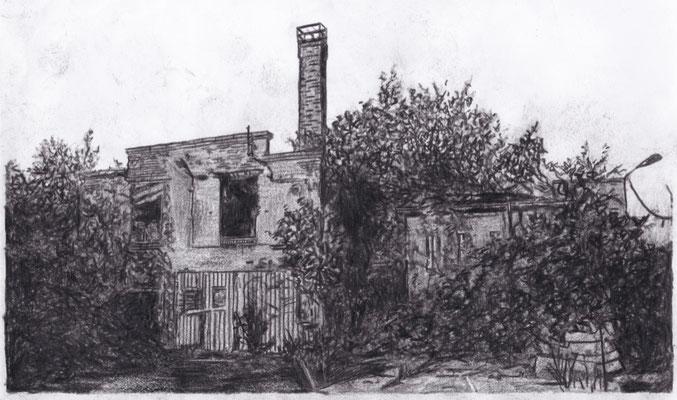 Lost Place Zeichnung - Fritz Schulze & Co.