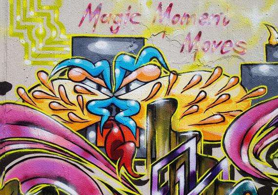 PAT23 - Freestyle Graffiti Character Fantasietier - Leipzig 2021