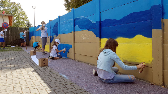 Graffiti Workshop Leipzig Markranstädt
