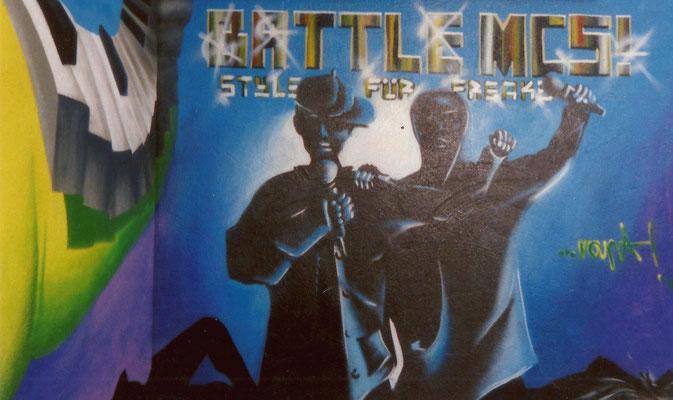 PAT23 - Graffiti Character BattleMCs - Leipzig 1999