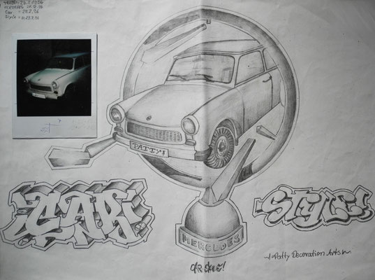 Car Style Sketch - 1996