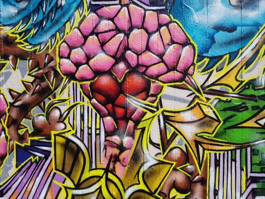 PAT23 - Freestyle Graffiti Character Herzpfeil - Leipzig 2021