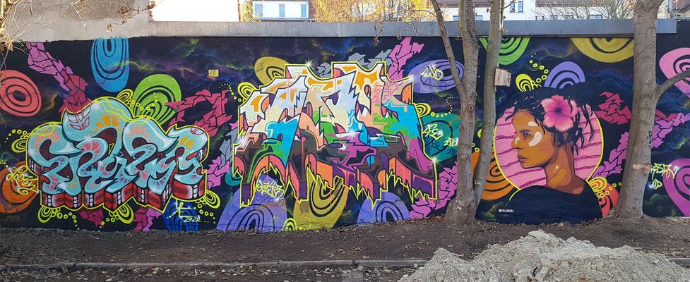 PAT23 & FRAEN & PERS - Urban Up Wall - 2020