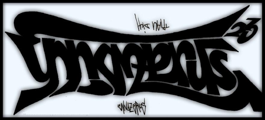 Ennozerus 23 - 180°Rotation (Ambigramm)