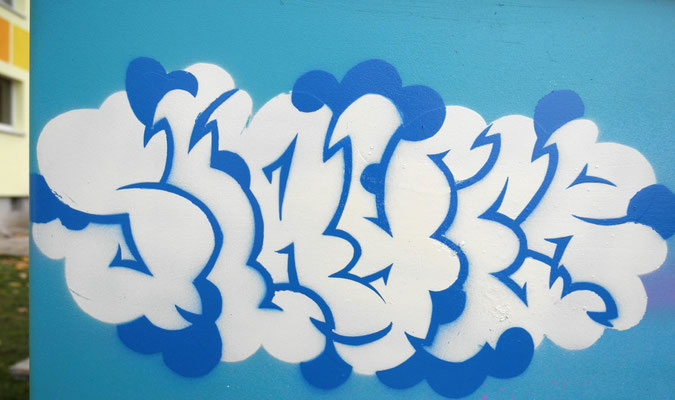 Slayer -  Schablonen Graffiti Style