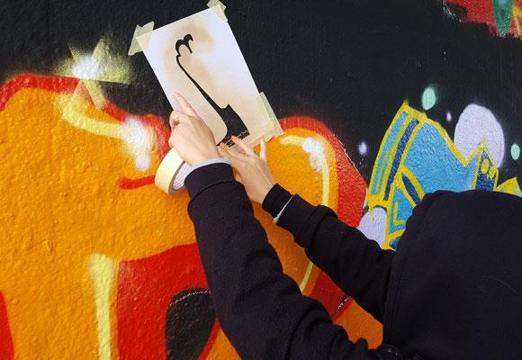 2021 - PAT23 Graffiti Workshop Leipzig für Herbie e.V.