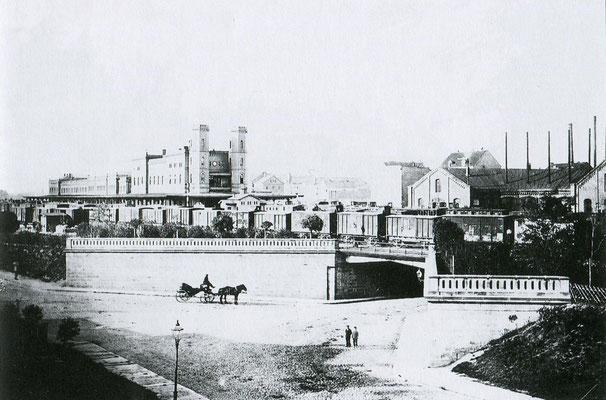 Die Süd-Stadt in historischen Ansichten