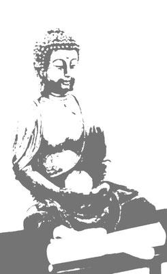 Eine Buddhastatue
