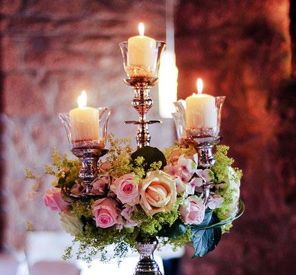 Kerzenleuchter Verleih