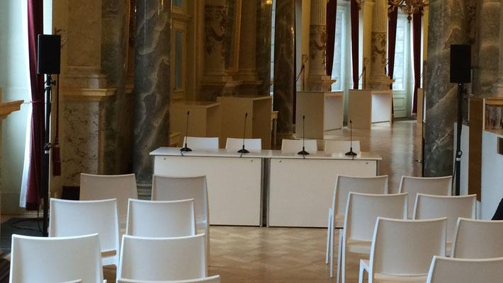 Presskonferenz Veranstaltungstechnik