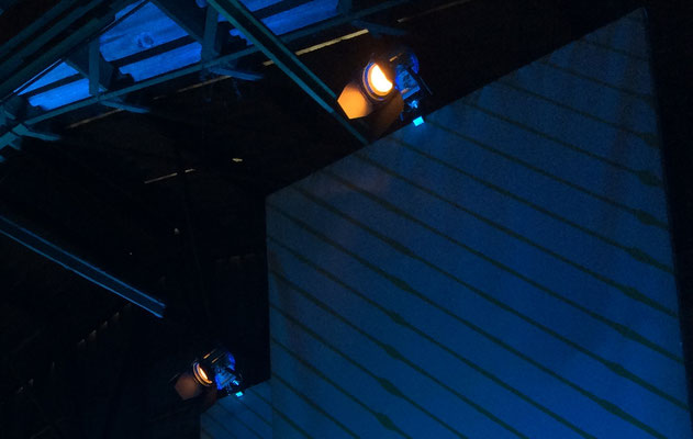 Bühnenrückbeleuchtung