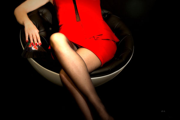"""Lady in """"RED"""""""