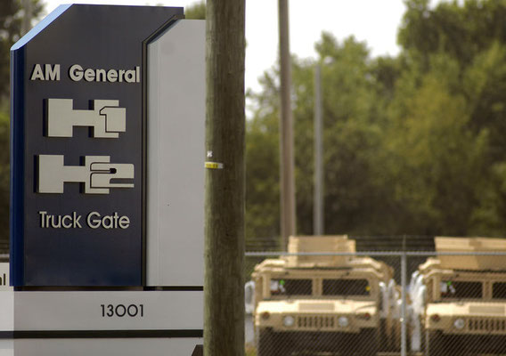 AM General, H1 und H2 Truck Gate 13001