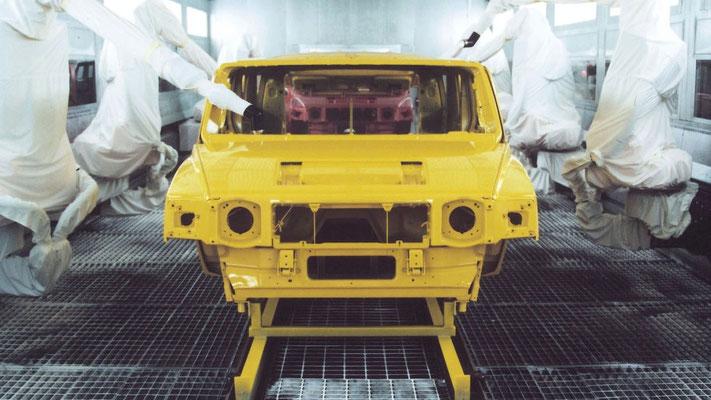 Fertigung eines Hummer H2
