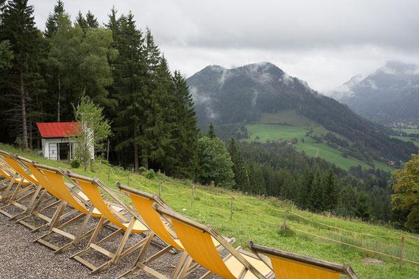 Panorama-Liegestühle