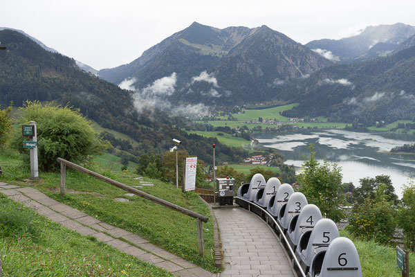 Berg-Achterbahn