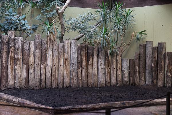Landschaft mit Holz