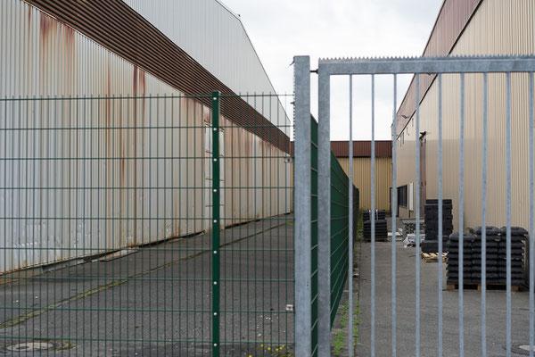 Industriebauten am Stadtrand von Münster